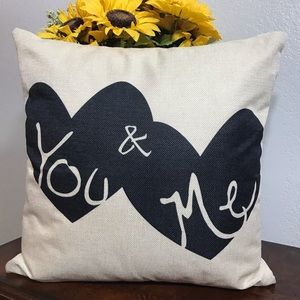 Farmhouse style pillow covers